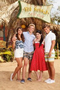Maia Mitchell, Ross Lynch, Grace Phipps, Garrett Clayton - Teen Beach Movie