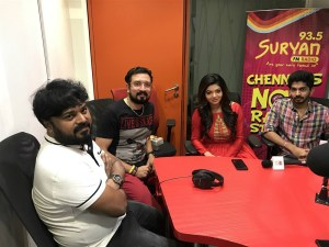 Sam D Raj at Suryan FM