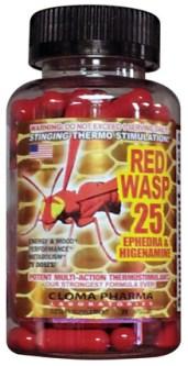 Red Wasp Ephedra pills