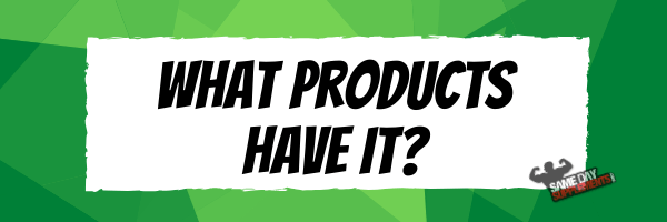What products have it