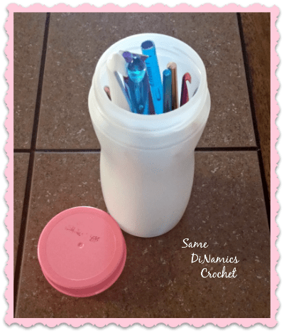 Plastic Storage Container For Hooks