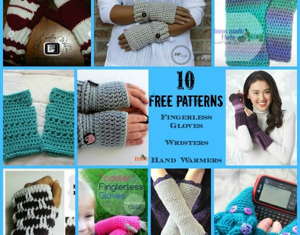 Fingerless Gloves, Wristers, Hand Warmers Round Up