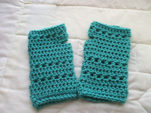 Jade Fingerless Gloves