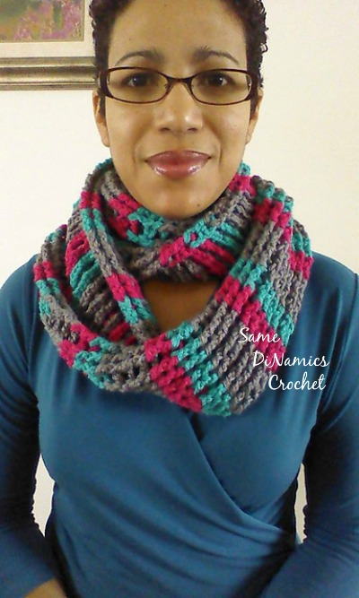 Cables and Stripes Cowl