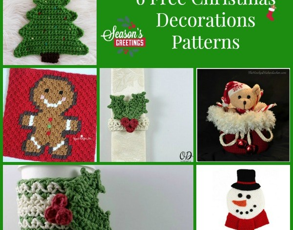 Christmas Decorations Patterns Collection