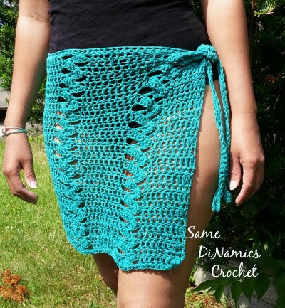 St. Croix Beach Skirt Wrap - Contributed Pattern