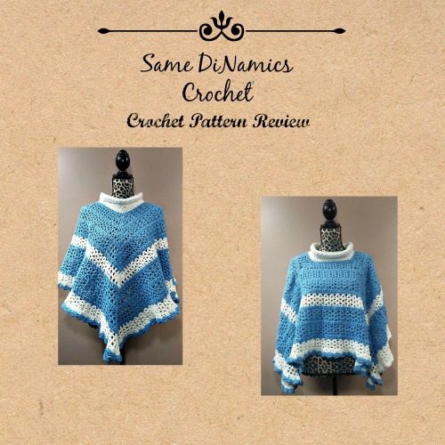 Evening Chill Poncho Crochet Pattern Review Collage