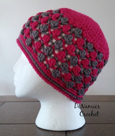 Floating Petals Hat - Contributed Pattern
