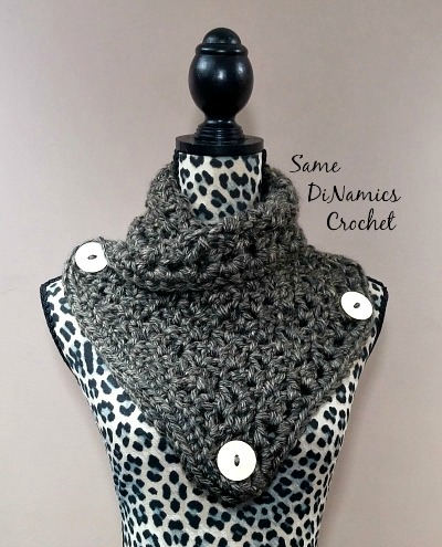 Aeris Buttoned Cowl