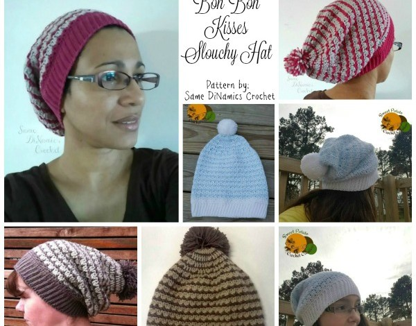 Bon Bon Kisses Slouchy Hat Free Pattern
