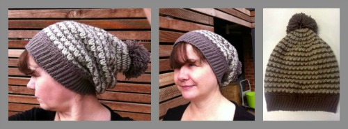 Margaret Bon Bon Kisses Slouchy Hat Collage