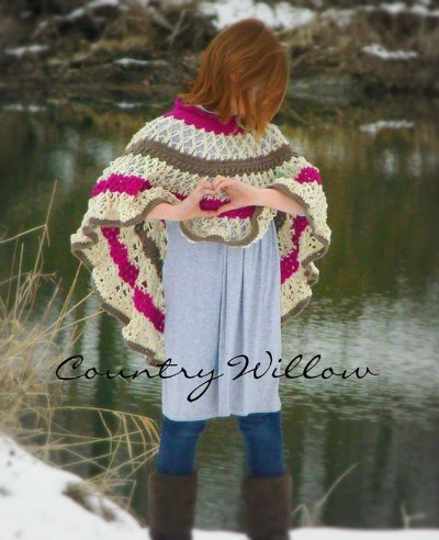 The Country Willow, Neverending Love Poncho