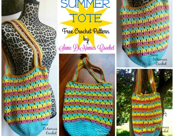 Summer Tote Free Crochet Pattern