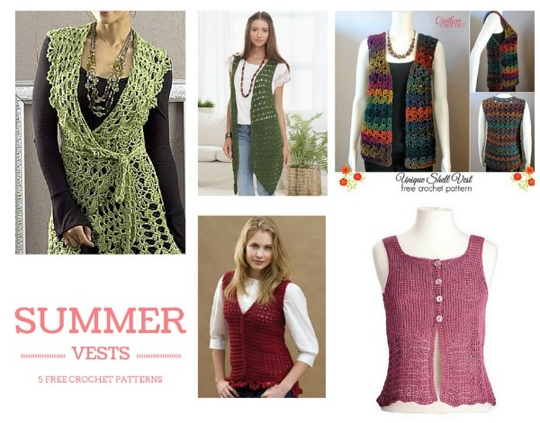 Summer Vests Pattern Compilation