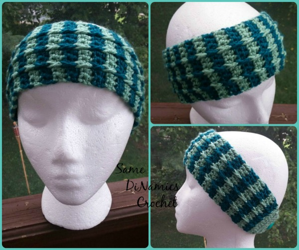 Cascading Cables Headband/ Ear Warmer - Contributed Pattern
