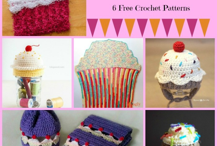 Sweet Treats Cupcake Pattern Compilation