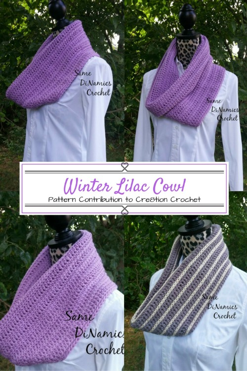 Winter Lilac Cowl Pinterest