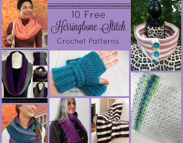 The Herringbone Stitch Pattern Compilation