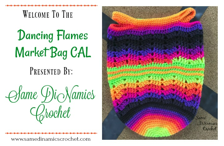 Dancing Flames Market Bag CAL Part Three