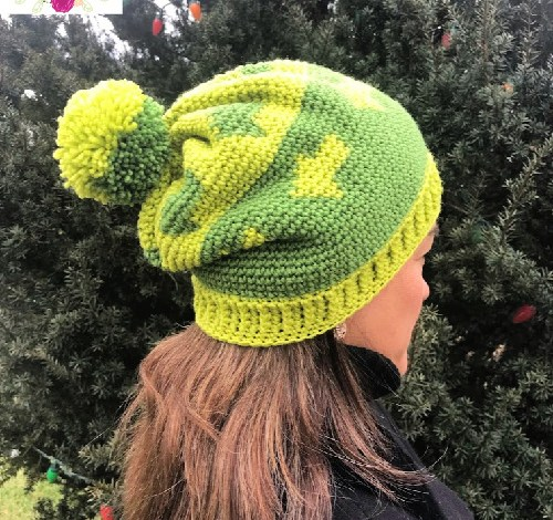 Going Places Slouchy Hat Free Crochet Pattern
