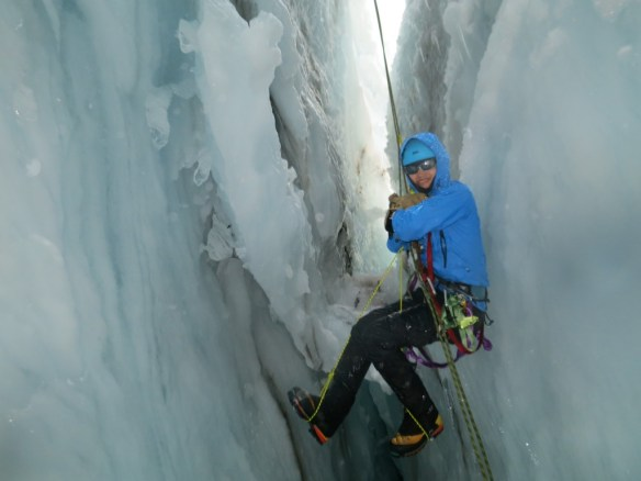 Or plunge into a crevasse on the awesome glaciers