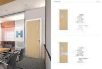 European Design Interior Office Door