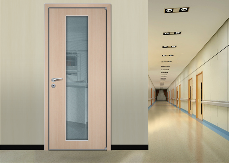Soundless hospital room door made in china