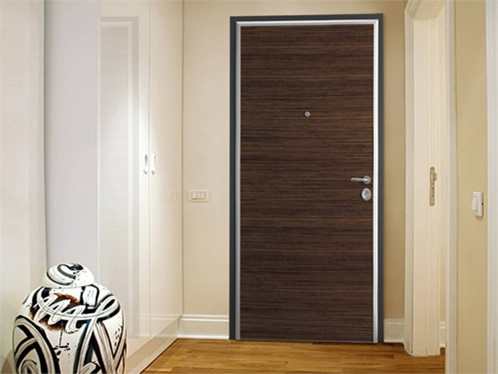 Melamine Flush Bedroom Door