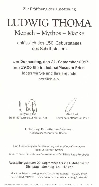 Ausstellung Ludwig Thoma 1