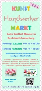 samerberger Kunsthandwerker-Markt