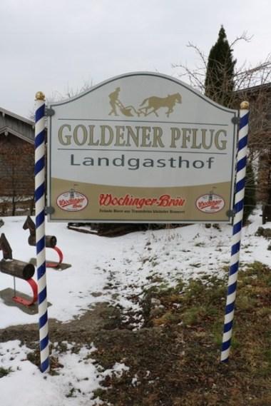 Der Goldene Pflug in Umrathshausen