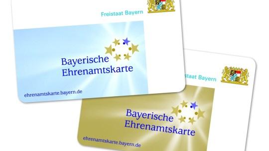 Die bayerische Ehrenamtskarte