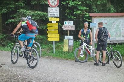 Start Waldparkplatz zum Feichteck
