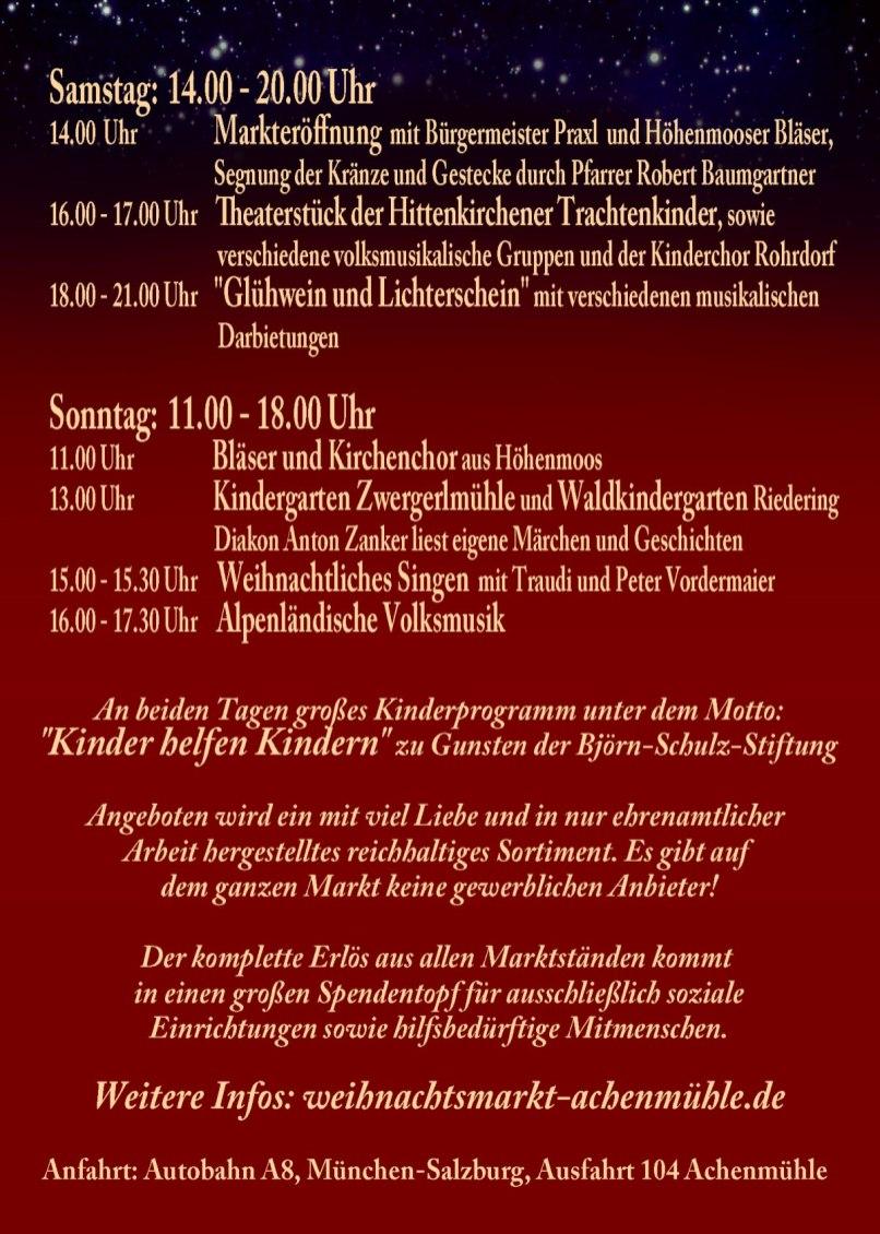 Flyer Weihnachtsmarkt Achenmuehle Rueckseite DinA6 (2)