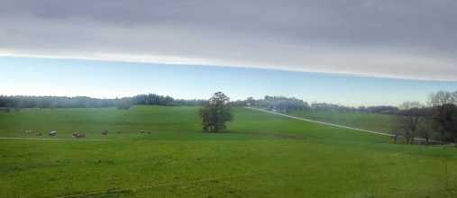 kl-Stetten Wolken gerade