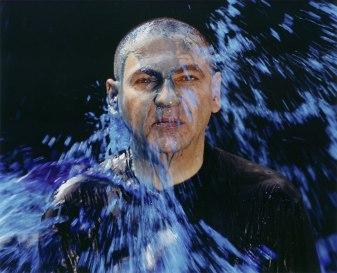 Fritz Simak, Farbschüttung 2, 2003 © Sammlung SpallArt