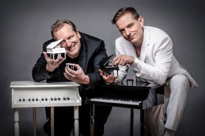 David und Goetz_Die Showpianisten_01_ Foto Inga Sommer