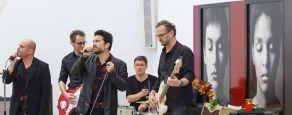 menschenskinder_Buben im Pelz 2_eroeffnung galerie rosenheim (c) Martin Weiand 2018