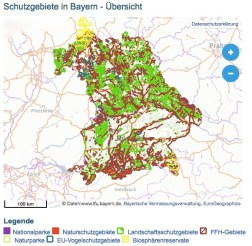 Schutzgebiete Bayern