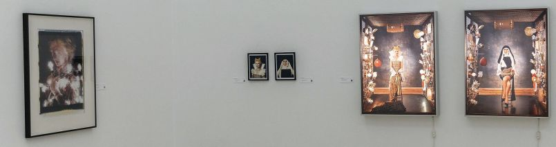Blick in die Ausstellung, Saal 9, Irene Andessner © Foto: Martin Weiand
