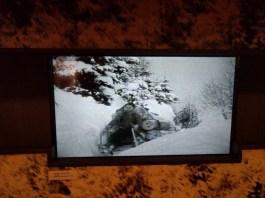 Ausschnitt aus einem Film im Holzknechtmuseum