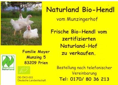 Naturland Bio-Hendl