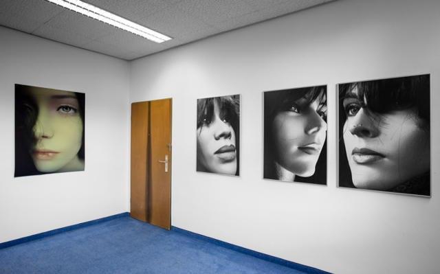Blick in die Ausstellung DaSein 2