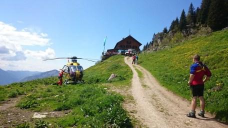 Bergwacht-Einsatz