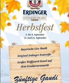 Flyer Herbstfest 2019