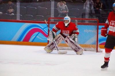 Matthias Bittner im Einsatz bei den Olympischen Jugend-Winterspielen