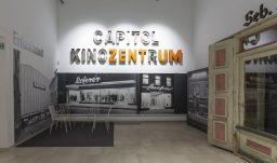 Made in Rosenheim Blick in die Ausstellung Einkaufsstadt Rosenheim Saal 9 Foto Martin Weiand