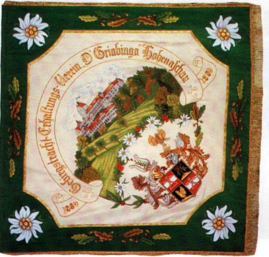 Hohenaschau Fahne