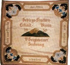 Sachrang Fahne