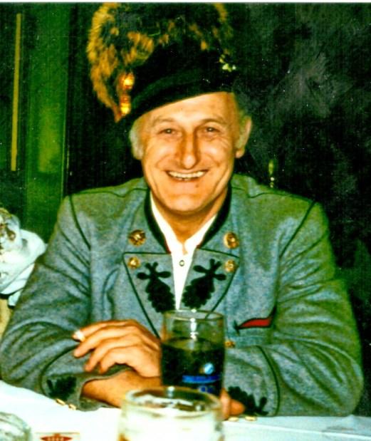 Werner Fütterer bei Priener Heimatabend